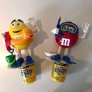 M&M Candy container