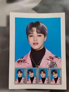 【WTS】BTS The Wings Tour Final Merch Jimin Stamps