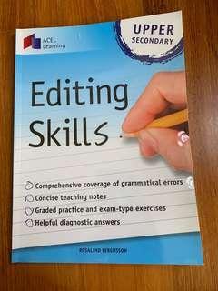 🚚 Editing skills upper secondary book