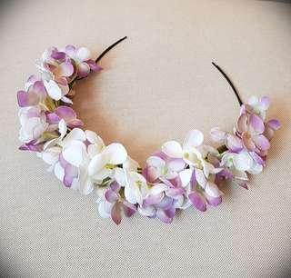 Wedding Flower Crown, Artificial Flowers