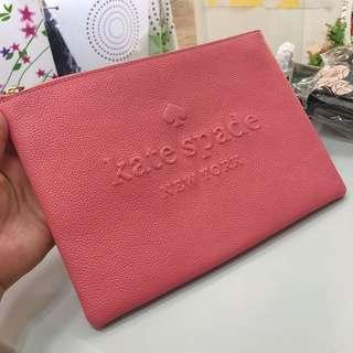 Kate spade 粉紅 手拎包