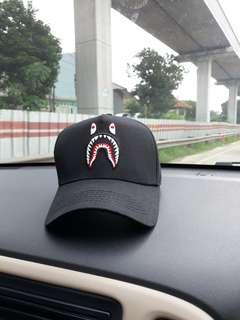 Dijual cepat topi Aape by A Bathing Ape Black