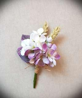 Wedding Flowers, Artificial Boutonnieres and Corsages