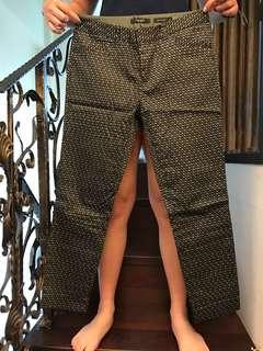 🚚 G2000墨綠印花合身長褲