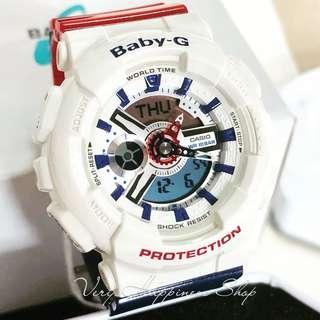 """BA-110TR-7A 卡西歐品牌手錶""""Casio""""""""Baby-G""""日本機芯一年保養"""