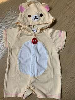 鬆弛熊 夾衣 連身衫 嬰兒衫 baby clothes