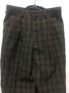 Long pants tartan