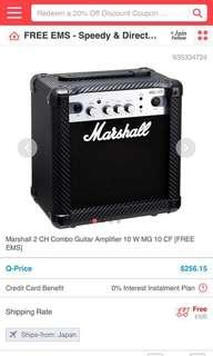Marshall Amplifier for Electric guitar