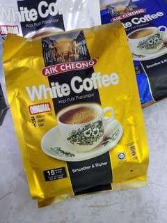 馬來西亞 益昌 白咖啡 (原味、少甜、無糖)