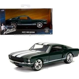 The Fast and the Furious - Sean's 1967 Ford Mustang (1/32)