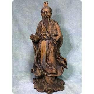 百年樹木 實心孔子 Confucius Sculpture