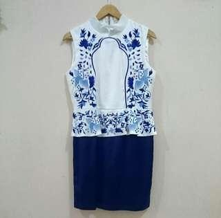 Dress Batik Embroidery