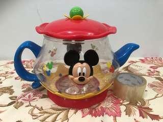 Disney Teapot Plastic Container