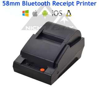 58mm Bluetooth Thermal Receipt Printer POS Cashier A1 android ios
