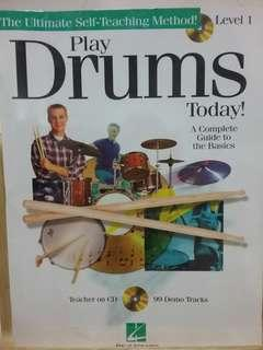 🚚 (Book with CD) Learn to play drum today! - A complete guide to the basics
