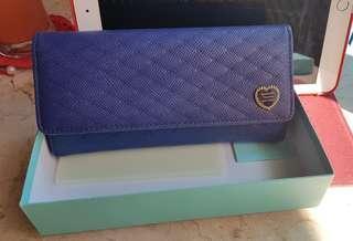 Slightly Used Samantha Thavasa Blue Wallet