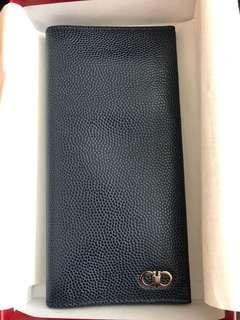 Salvatore Ferragamo men's long wallet