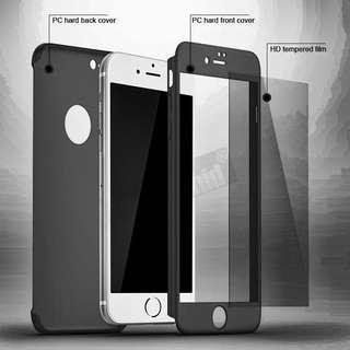 iPhone 7 case with glass protector
