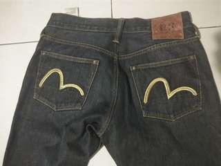 Evisu original jeans 30 x 34