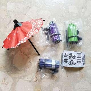 Gachapon - Japanese umbrella (wagasa) collection Vol.1