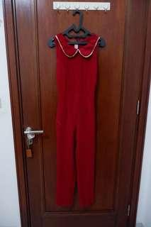 Red Jumper (jumpsuit) all size