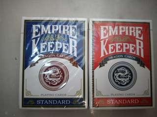 🚚 EMPIRE KEEPER PLAYING CARD