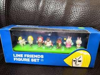 (全新) Line Friends Figure Set