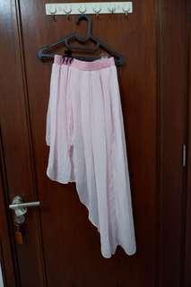 斯文裙 mermaid skirt Low and High