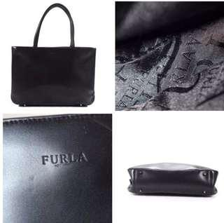 Furla Leather Tote Handbag