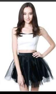 MDS Tulle Skirt size M in black colour