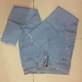 cut off jeans