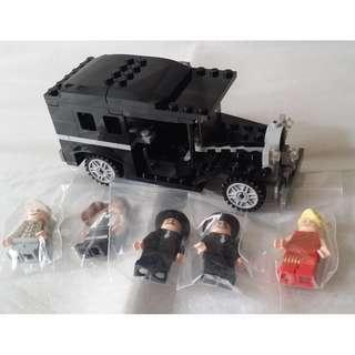 Lego 7682 (只黑色車+5人仔)