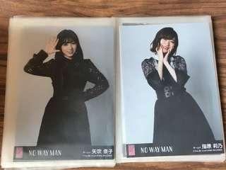 "Akb48 54th single ""NO WAY MAN""劇場盤生寫真"