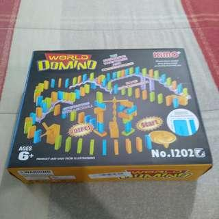 Legit BNWB Kimo World Of Domino Board Game 82 Pieces