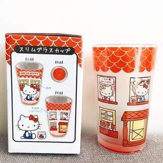 🌹 Hello Kitty - Slim Glass Cup 🌹