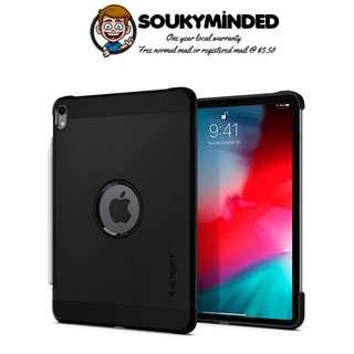 [IN-STOCK] Spigen Tough Armor Designed for iPad Pro 11 Case (2018) - Black