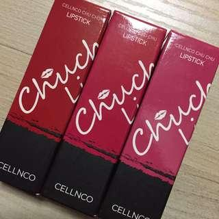 Cellnco Lipsticks