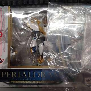【USED S.H Figuarts Imperialdramon Paladin Mode Back in Box Digimon Figure +【Free Unused or new display Stand 】
