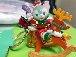 🚚 全新🏰迪士尼正版畫家貓聖誕限定吊飾