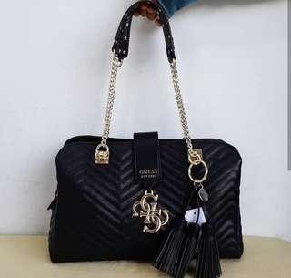 Original guess violet black bag