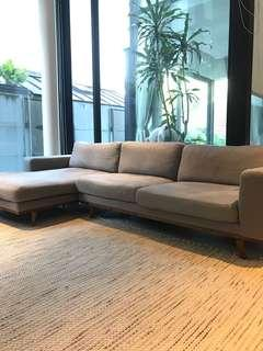 Originals sofa couch lounge chaise grey