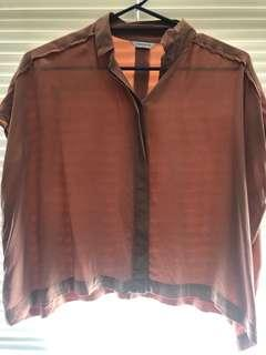 Loose fitting country road blouse