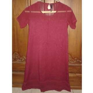 Gee Eight Dress Red