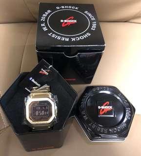 全新G-Shock GMW-5000GD-9ER  金鋼  限量版  歐洲版  日本製