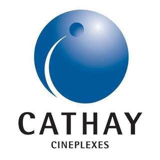 [Out of stock atm] Cathay movie everyday e-voucher (Booking fee included)
