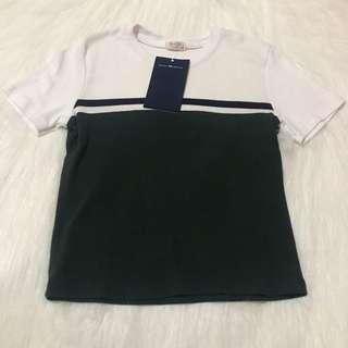 Brandy Melville Color Block Shirt