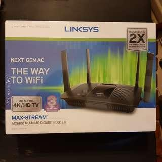 Linksys EA8100-AH MAX-STREAM AC2600 wireless router [BNIB]
