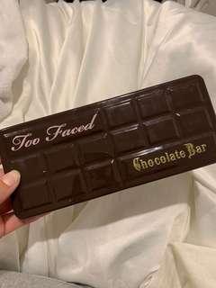 Too Faced chocolate bar palette - original