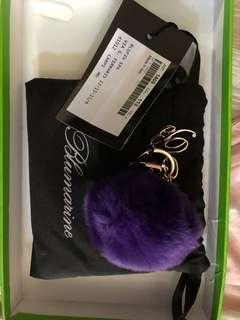 Blumarine 紫色鎖鑰扣
