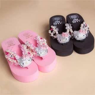 hello kitty slipper pink (LC)